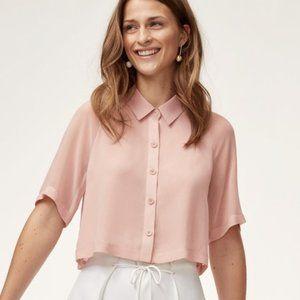 NWOT - Wilfred Henrietta Shirt - White Long Sleeve